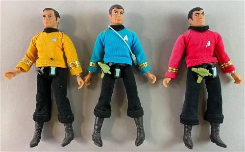 Group of 3 Mego Star Trek Action Figures