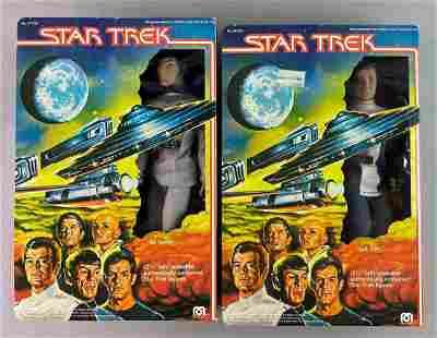 Group of 2 Mego Star Trek NIB Action Figures
