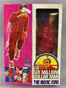 Kenner The Bionic Man Action Figure w Box