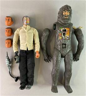 Group of 2 Kenner The Bionic Man Action Figures
