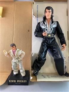 Group of 2 Elvis Presley Figures