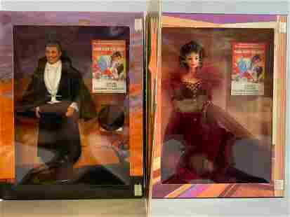 Group of 2 Barbie Hollywood Legends Collection Dolls