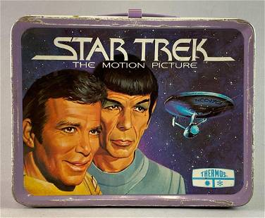 Star Trek The Motion Picture Thermos Lunchbox