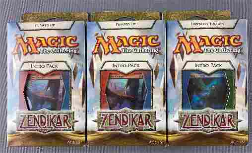 Group of 3 Magic The Gathering Intro Packs