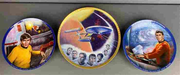 Group of 10 Hamilton Collection Star Trek Collector