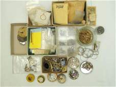 Group of Jewelry Findings