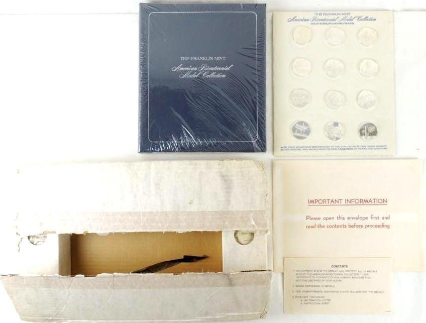 "Franklin Mint ""American Bicentennial Medal Collection"""