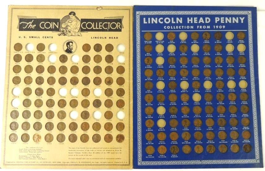 Approximately 110 Plus Lincoln Head Pennies on