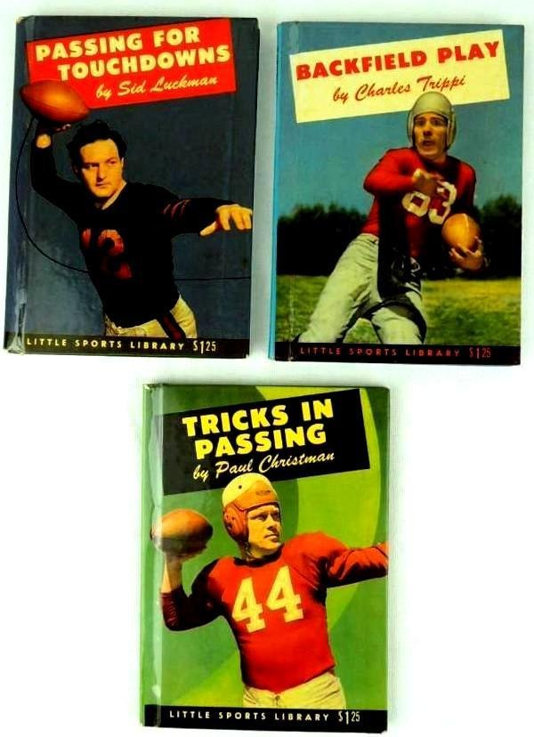 Group of 3 Little Sports Library Books Featuring Sid