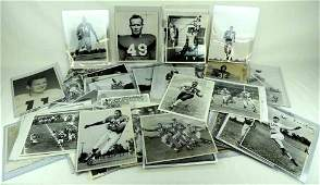 50 Plus NFL Press and Wire Photos 195021970s Many