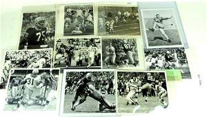 Group of 12 Green Bay Packers Press and Wire Photos