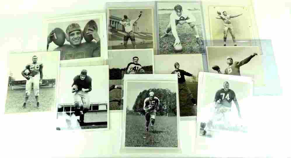 Group of 11 1930's and 1940's NFL Press and Wire Photos