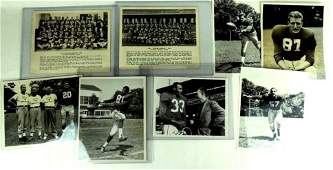 Group of 8 Chicago Cardinals Press and Wire Photos