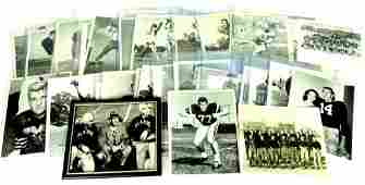 Large Group of 1940's - 50's NCAA Press and Wire Photos