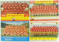 San Francisco 49ers Signed by Billy Wilson Falstaff