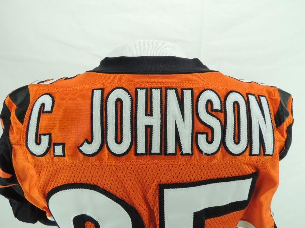 2005 Chad Johnson Cincinnati Bengals Game-Worn Jersey - 7