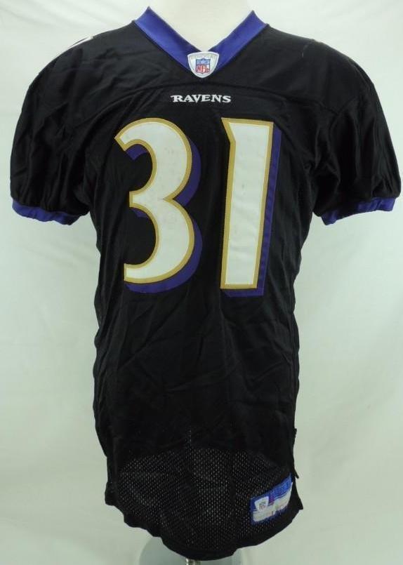 2004 Jamal Lewis SignedBaltimore Ravens Game-Worn