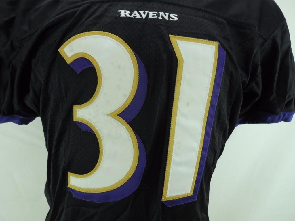 2004 Jamal Lewis SignedBaltimore Ravens Game-Worn - 2