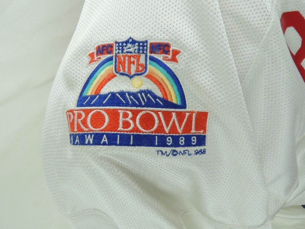 1989 James Brooks AFC Pro Bowl Game-Worn Jersey and - 10
