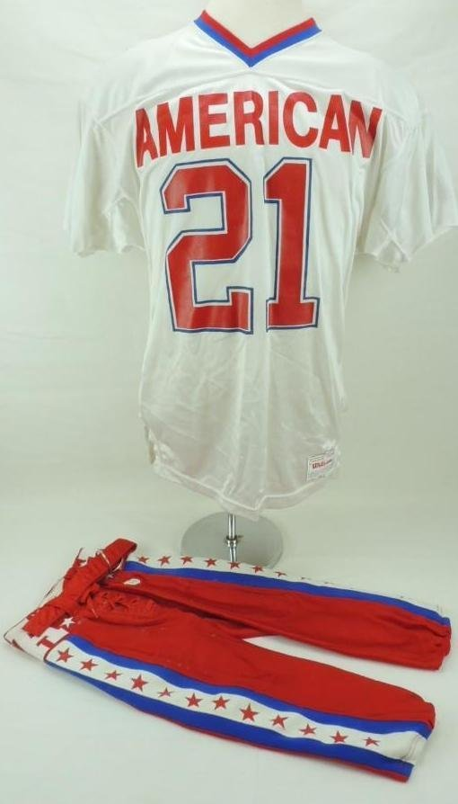 1989 James Brooks AFC Pro Bowl Game-Worn Jersey and