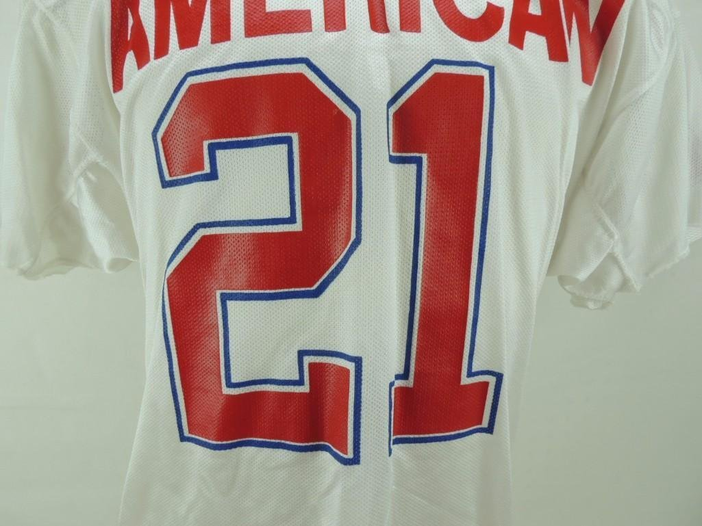 1989 James Brooks AFC Pro Bowl Game-Worn Jersey and - 2