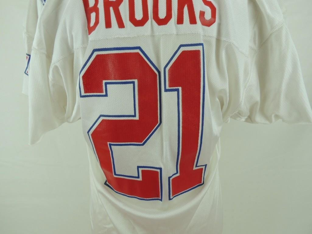 1989 James Brooks AFC Pro Bowl Game-Worn Jersey and - 8