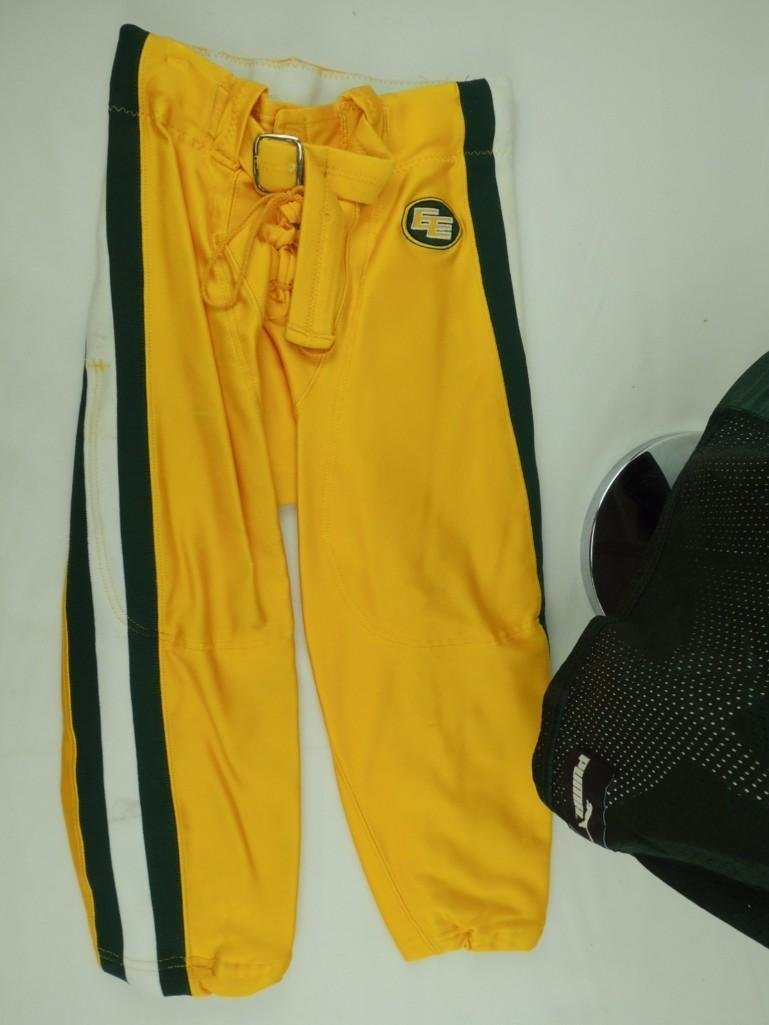 2004 Mike Pringle Edmonton Eskimos CFL Game-Worn Jersey - 7