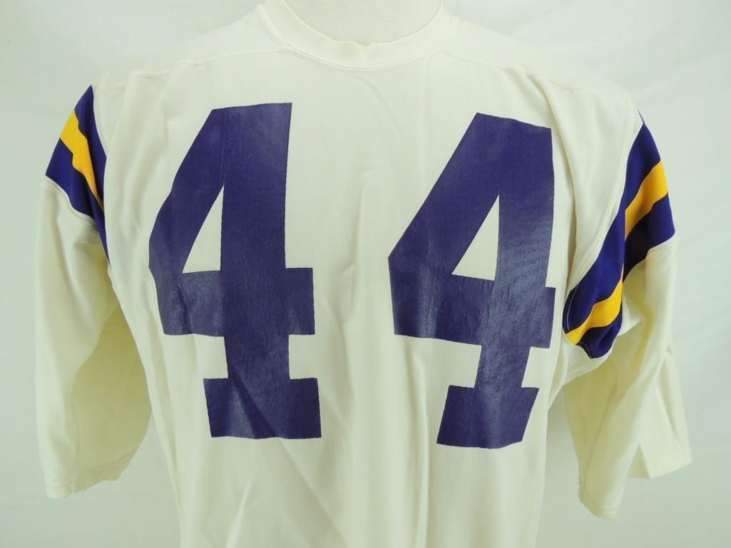 Chuck Foreman Signed Minnesota Vikings Game-Worn Jersey - 2