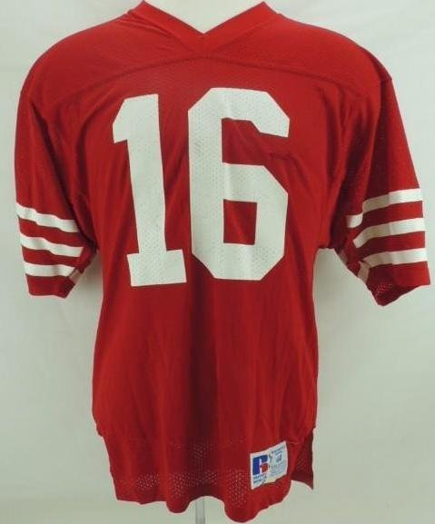 1984 Joe Montana San Francisco 49ers Home Jersey