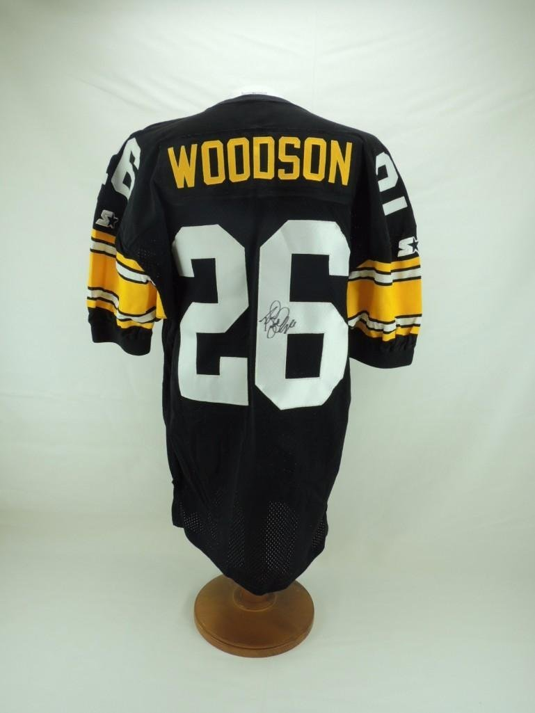 Charles Woodson Signed Pittsburgh Steelers Jersey - 5
