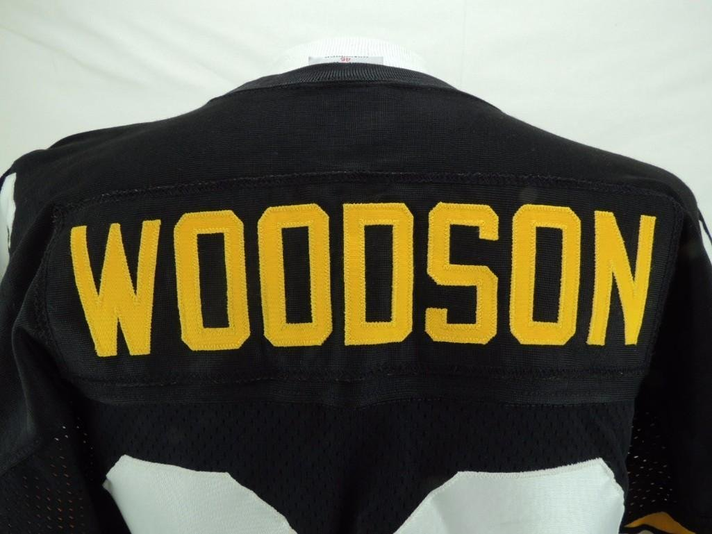 Charles Woodson Signed Pittsburgh Steelers Jersey - 8