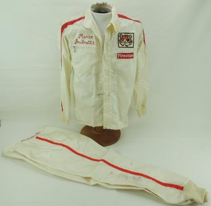 Mario Andretti Firestone Race-Worn Jacket and Pants