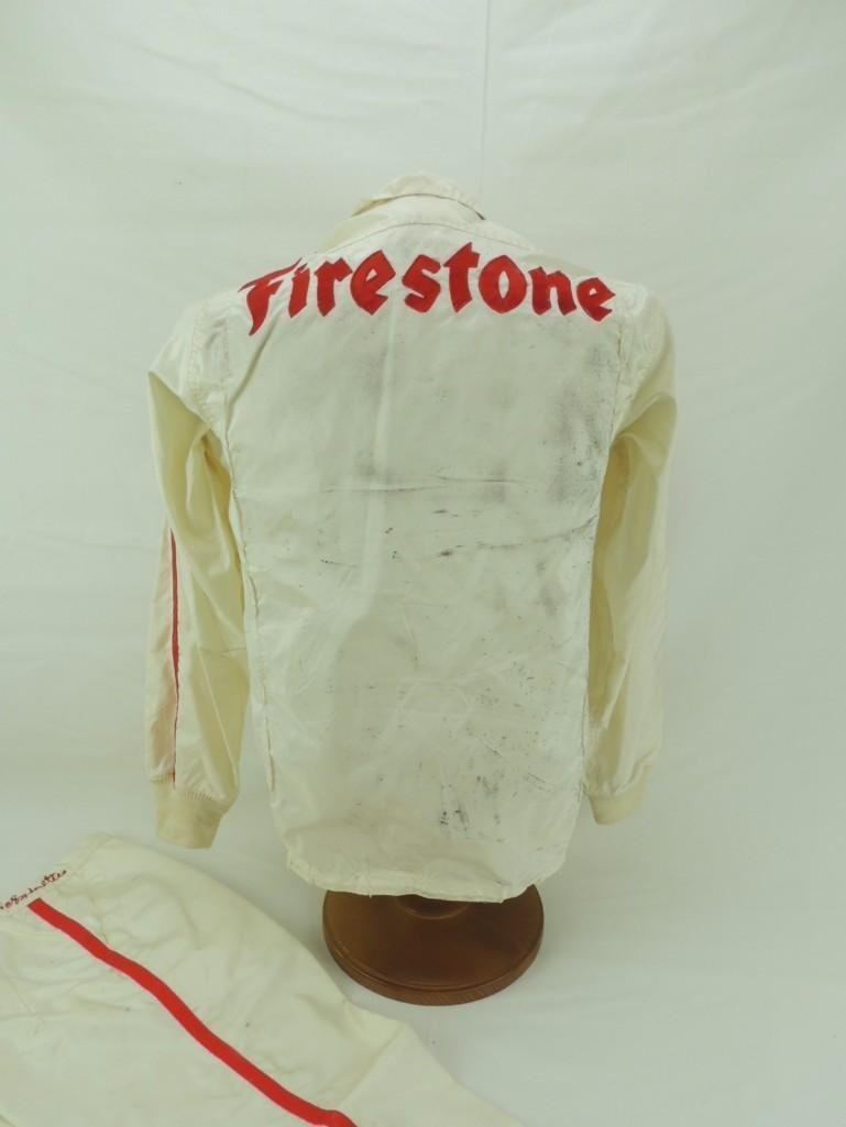 Mario Andretti Firestone Race-Worn Jacket and Pants - 6
