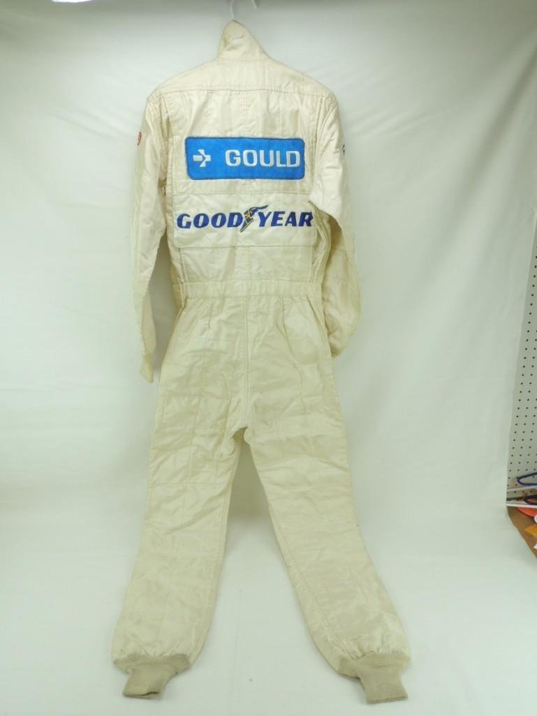 Rick Mears Signed Penske Goodyear Tire Race-Worn Racing - 5