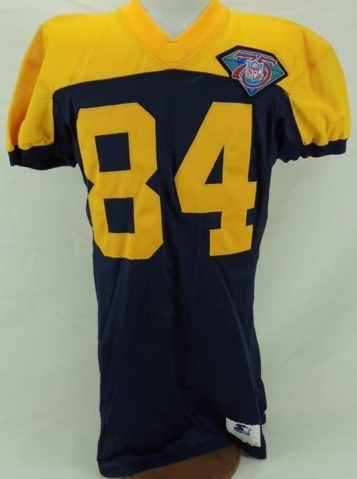 1994 Sterling Sharpe Green Bay Packers Alternate Jersey