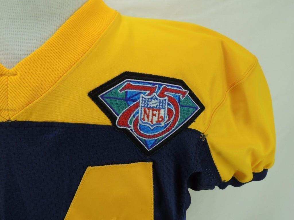 1994 Sterling Sharpe Green Bay Packers Alternate Jersey - 3
