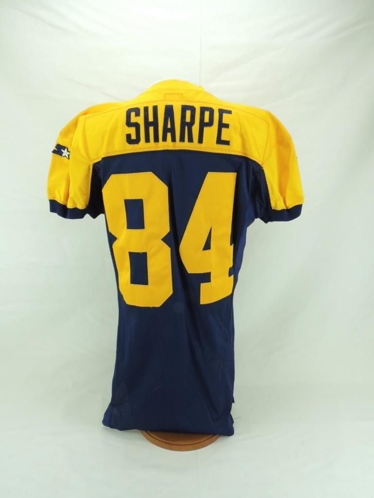 1994 Sterling Sharpe Green Bay Packers Alternate Jersey - 5
