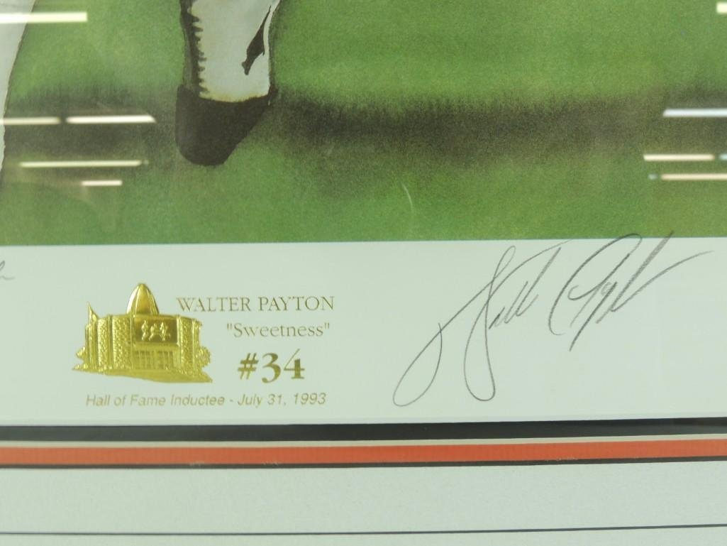 "Walter ""Sweetness"" Payton Signed Limited Edition Print - 2"