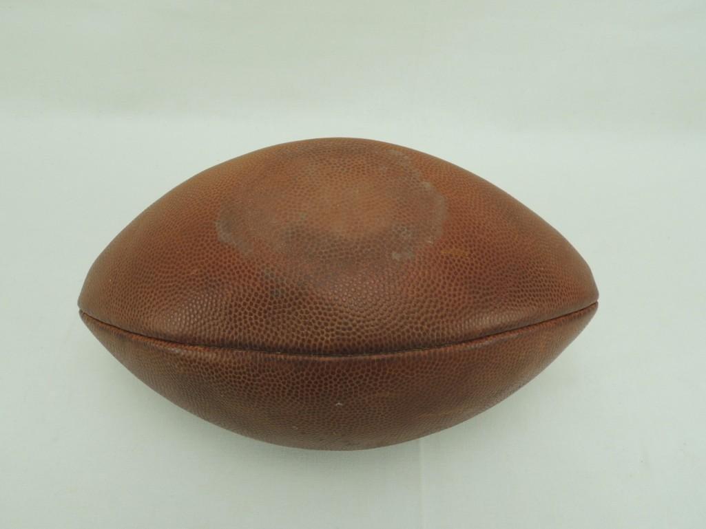 Indianavs Michigan State Nov. 8 1958 Game Ball - 2