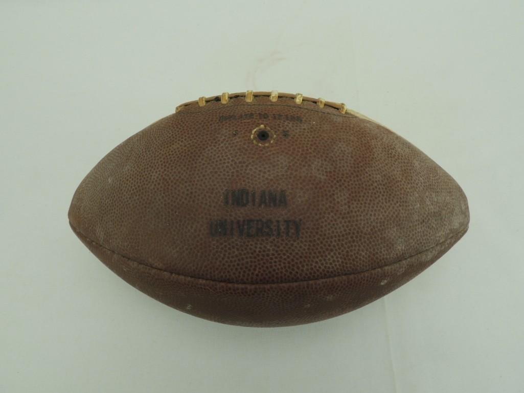 Indianavs Michigan State Nov. 8 1958 Game Ball - 4