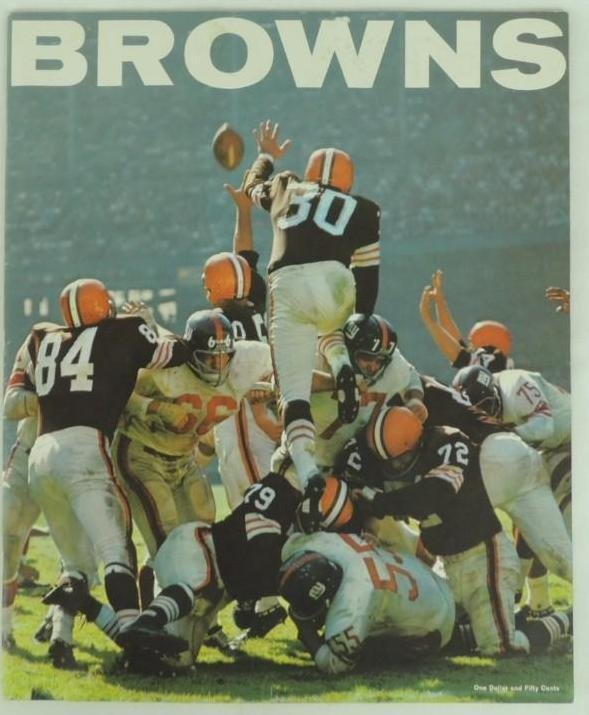 1963 Cleveland Browns Oversized Photo Bookwith - 2