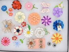 Vintage Costume Pin/Brooch Lot Jewelry