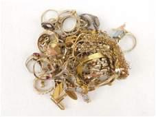 10k Gold Scrap Mixed Lot