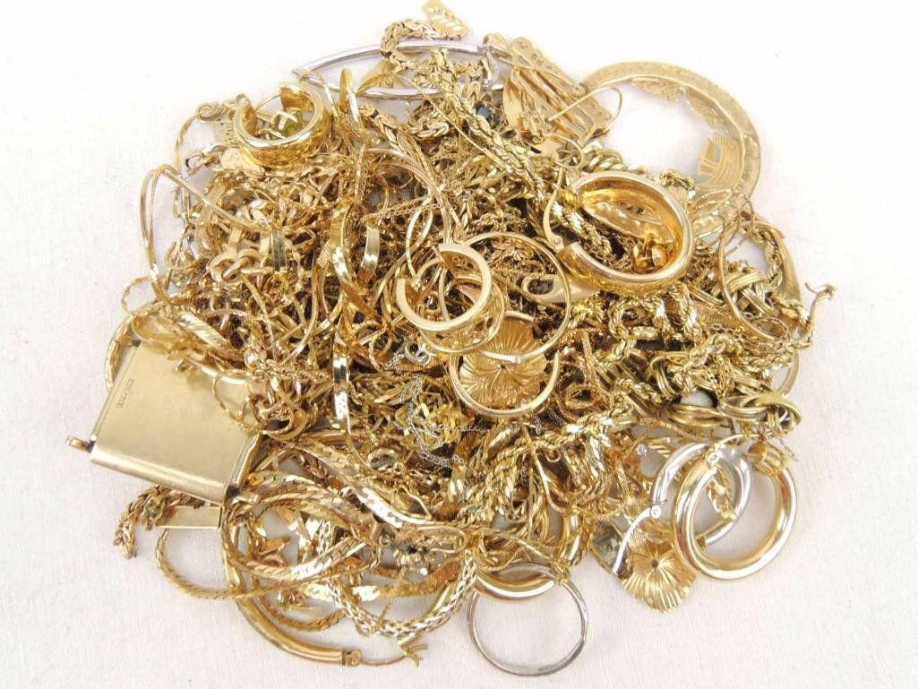 14k Gold Scrap Mixed Lot