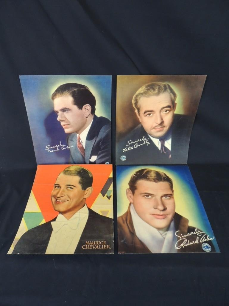 Group of 4 Columbia Pictures Actors Headshots