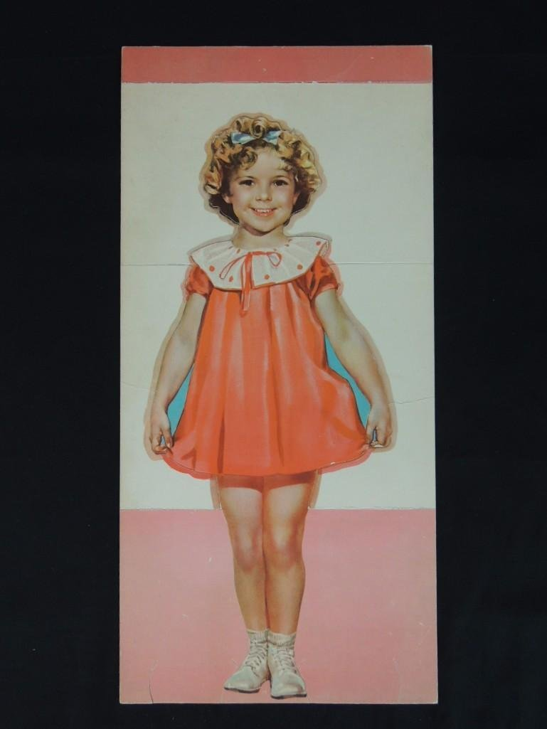 Vintage Shirley Temple Cut-Out