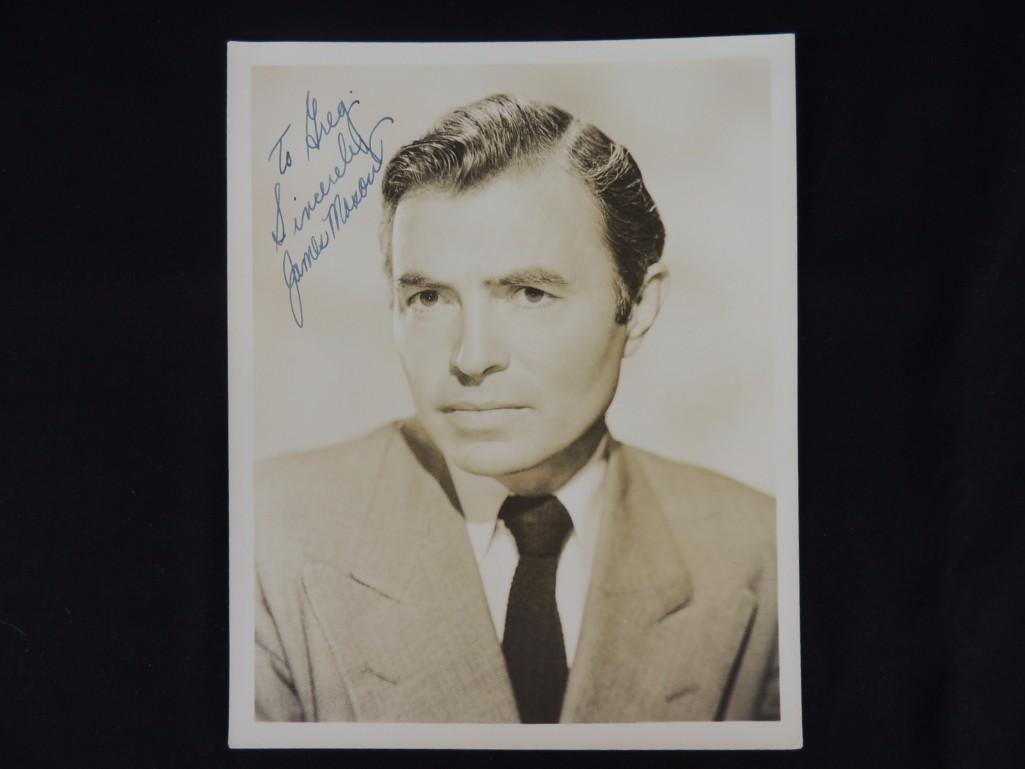 Vintage James Mason Signed Photo