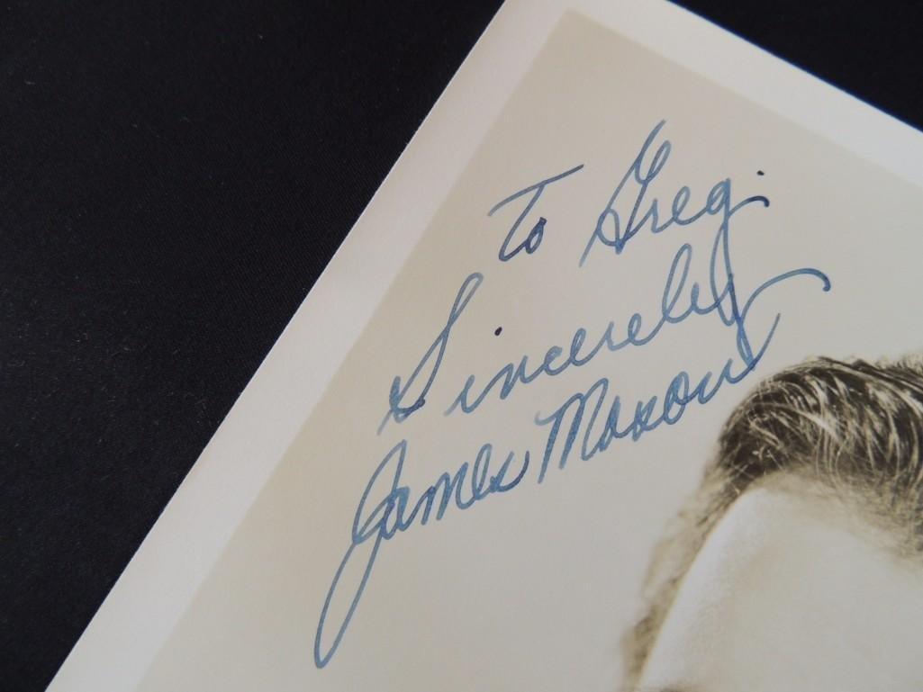 Vintage James Mason Signed Photo - 2