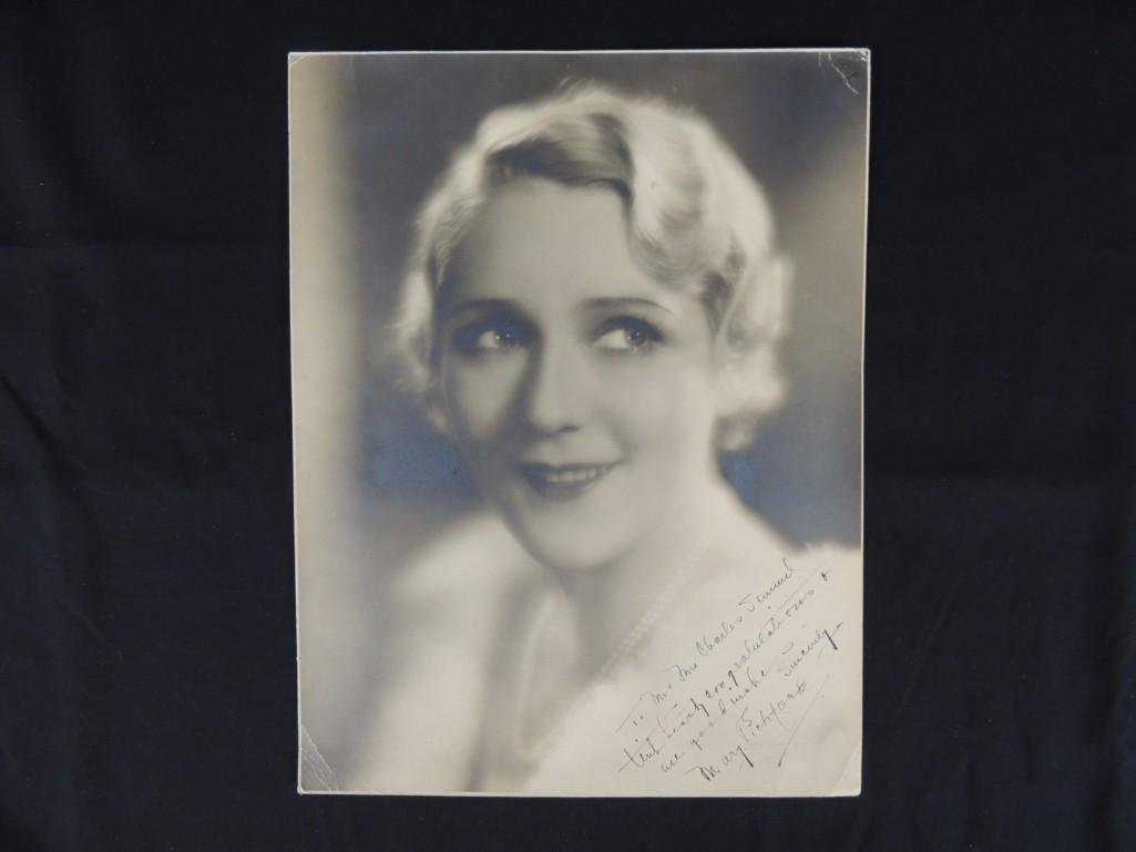 Vintage Mary Pickford Signed Photo