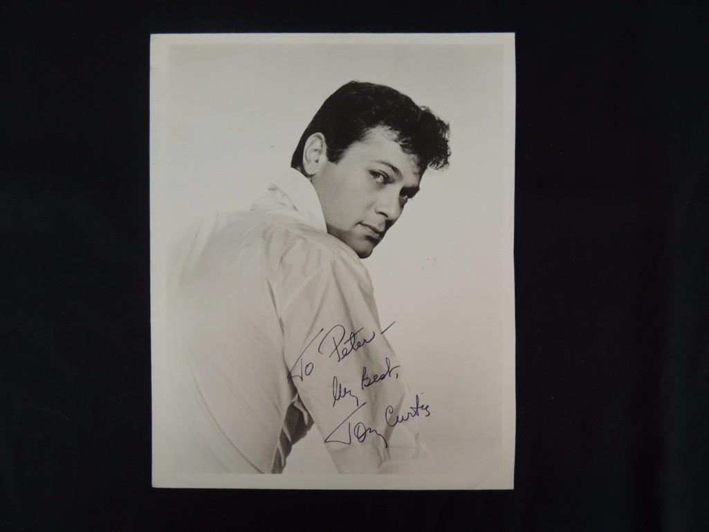 Vintage Tony Curtis Signed Photo